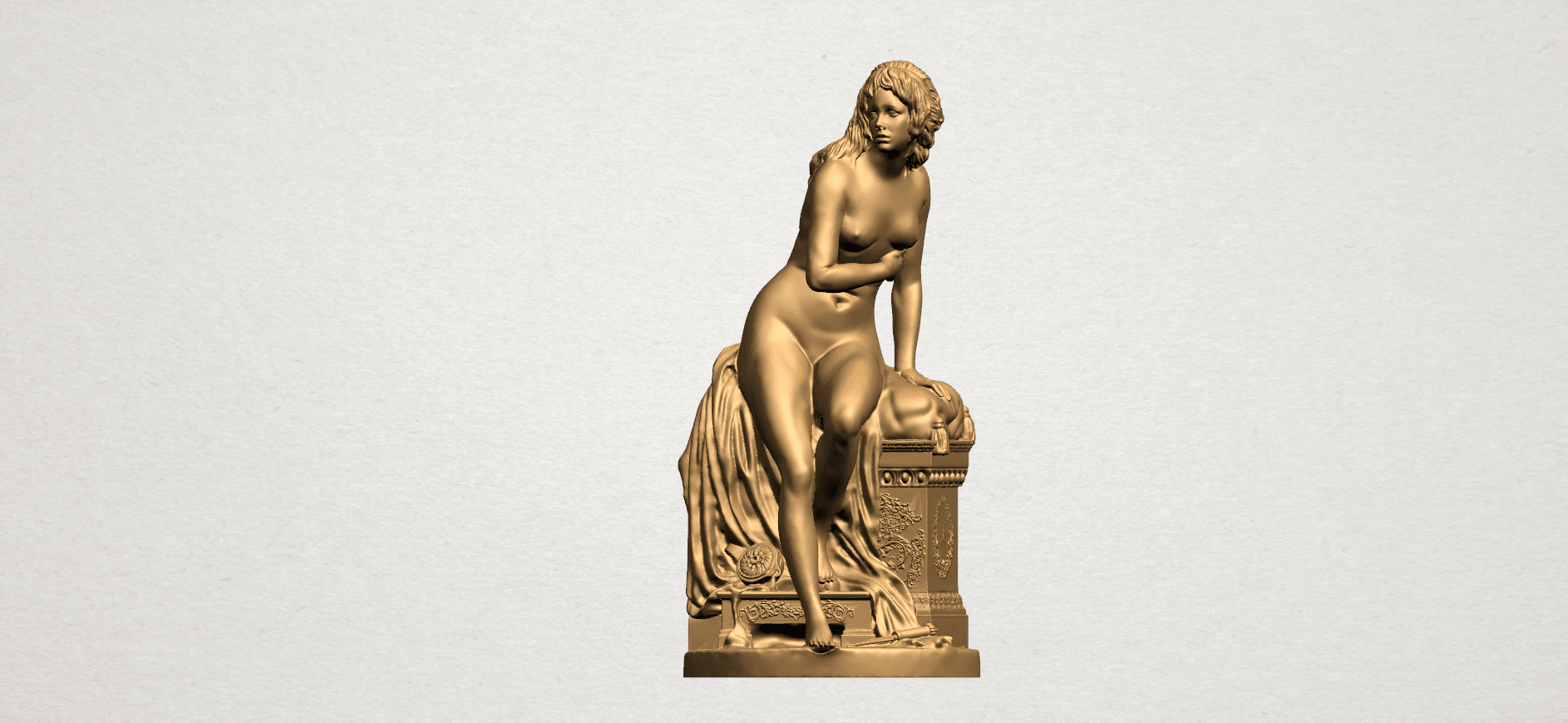 Naked Girl (i) B01.png Download free STL file Naked Girl 01 • 3D printing model, GeorgesNikkei