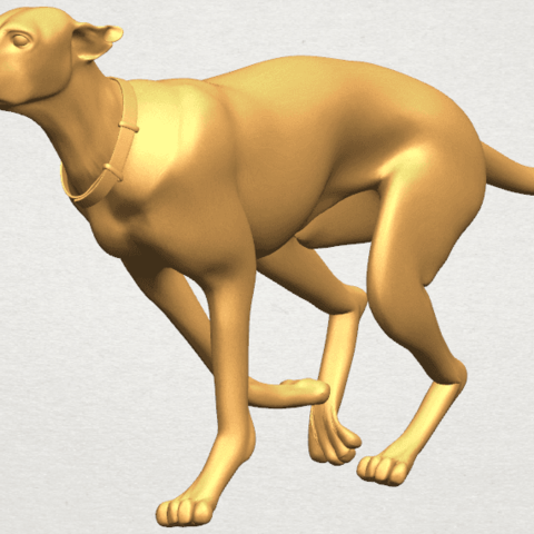 TDA0529 Skinny Dog 01 A05.png Download free STL file Skinny Dog 01 • Object to 3D print, GeorgesNikkei