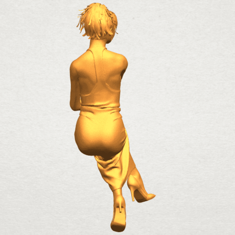 A10.png Download free STL file Naked Girl H09 • 3D printing model, GeorgesNikkei