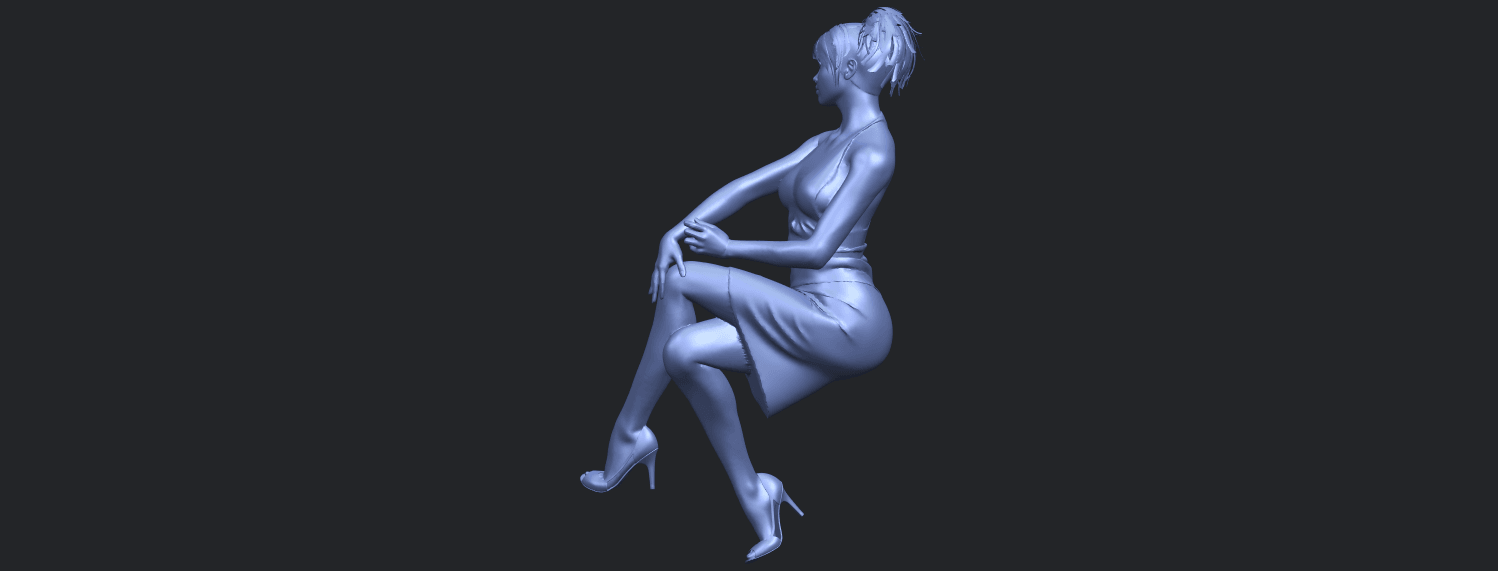 16_TDA0666_Naked_Girl_H04B07.png Download free STL file Naked Girl H04 • 3D printing object, GeorgesNikkei