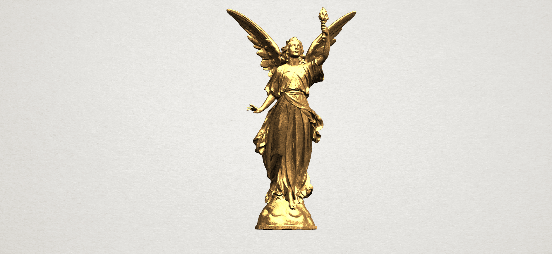 Statue 01 - A01.png Download free STL file Statue 01 • Object to 3D print, GeorgesNikkei