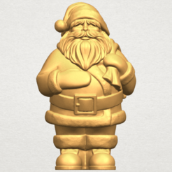 Free 3d printer designs Santa Claus, GeorgesNikkei