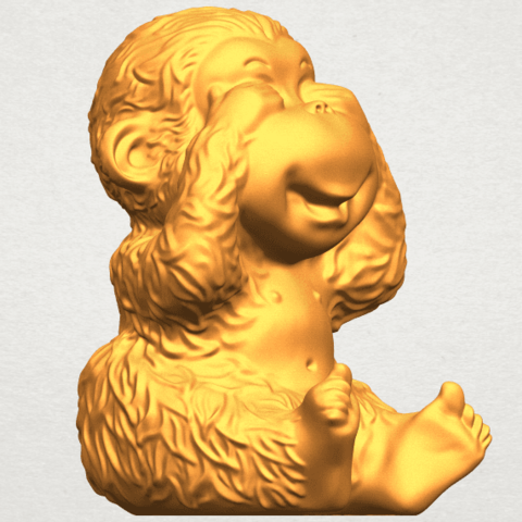 A10.png Download free STL file Monkey A03 • 3D printable model, GeorgesNikkei