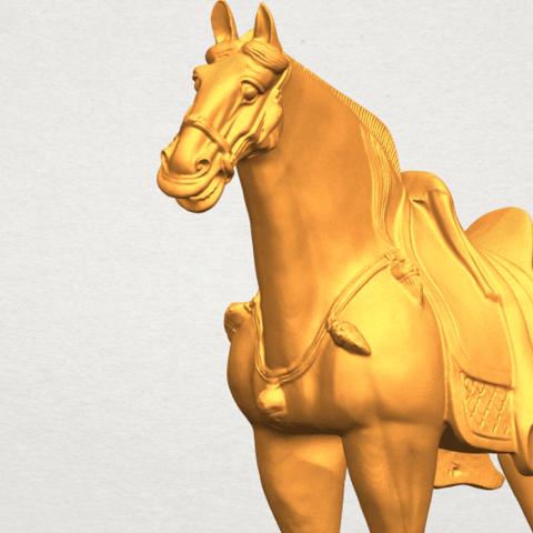 A11.png Télécharger fichier STL gratuit Cheval 08 • Plan à imprimer en 3D, GeorgesNikkei