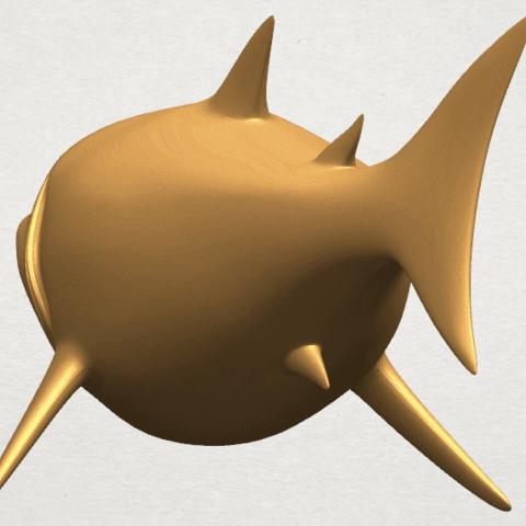 TDA0486 Shark A03.png Download free STL file Shark • 3D print design, GeorgesNikkei