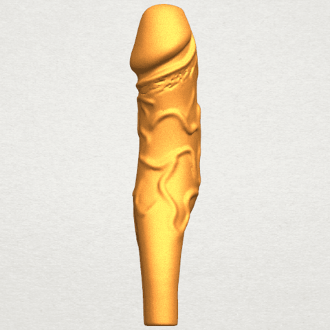 TDA0317 Dick (ii) A03.png Download free STL file Dick 02 • Design to 3D print, GeorgesNikkei