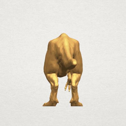 TDA0611 Tyrannosaurus A03.png Download free STL file Tyrannosaurus • 3D printing model, GeorgesNikkei