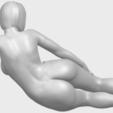 Free 3d printer files Naked Girl 31 - Lying on Floor, GeorgesNikkei