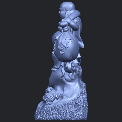 09_TDA0329_Metteyya_Buddha_09B04.png Télécharger fichier STL gratuit Bouddha Metteyya 09 • Modèle imprimable en 3D, GeorgesNikkei