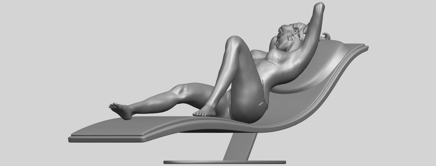 TDA0743_Sexy_Girl_13-Lye_on_ChairA05.png Download free STL file Sexy Girl 13 - Lye on Chair • 3D printer design, GeorgesNikkei