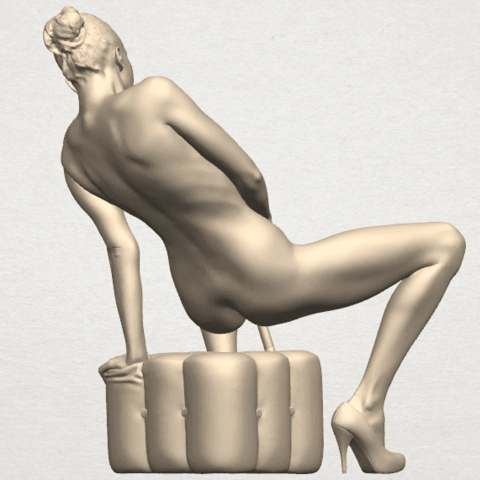 TDA0285 Naked Girl B02 09.png Download free STL file  Naked Girl B02 • 3D printer model, GeorgesNikkei