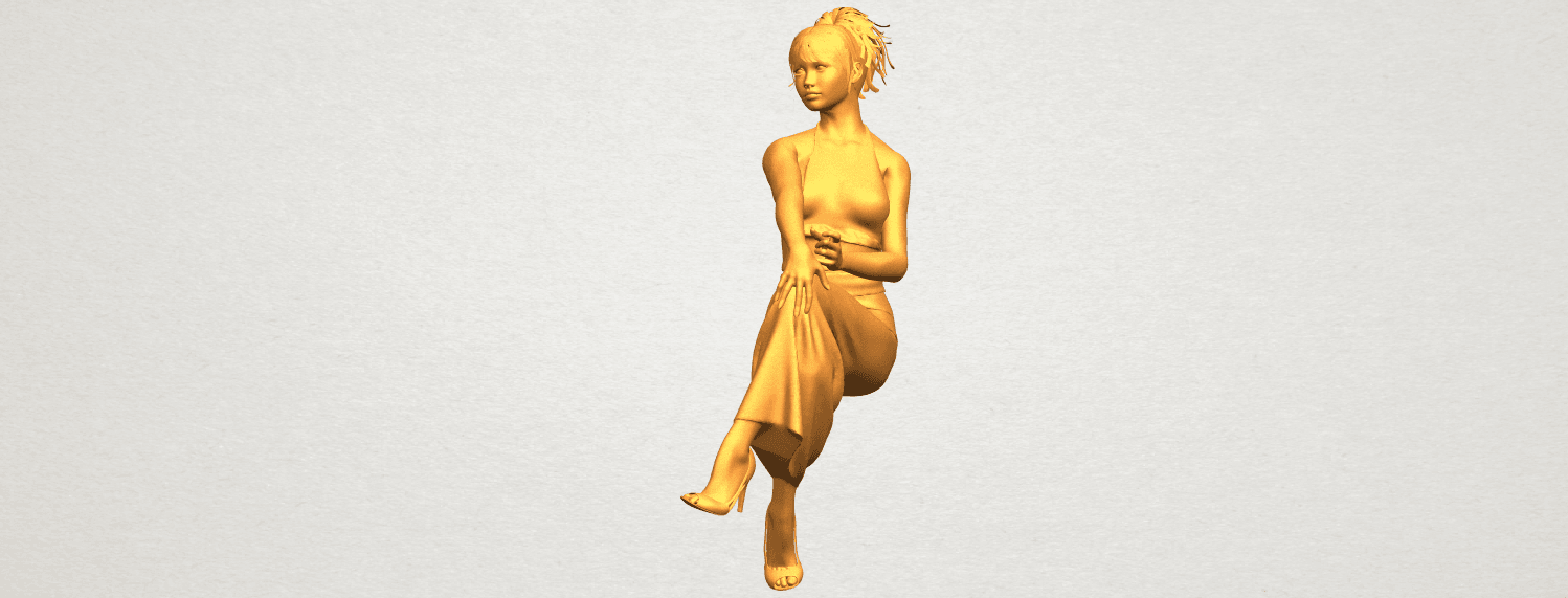 A05.png Download free STL file Naked Girl H09 • 3D printing model, GeorgesNikkei