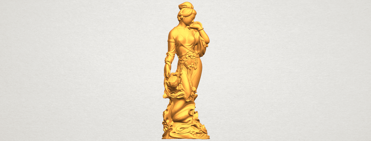 TDA0449 Fairy 04 A06.png Download free STL file Fairy 04 • Object to 3D print, GeorgesNikkei