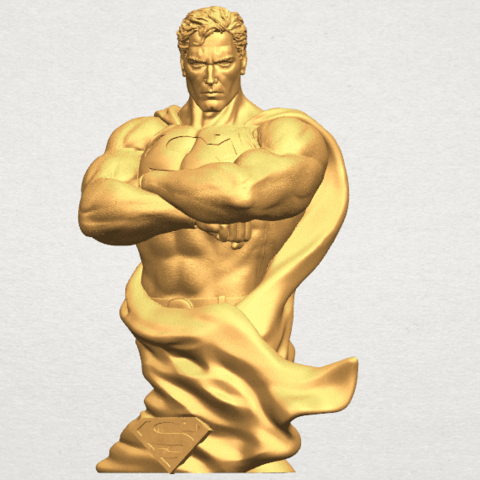 TDA0542 Superman A02.png Download free STL file Superman • 3D printable model, GeorgesNikkei