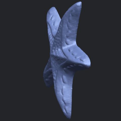 14_TDA0607_Starfish_01B03.png Télécharger fichier STL gratuit Étoile de mer 01 • Design à imprimer en 3D, GeorgesNikkei