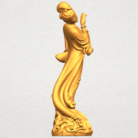TDA0448 Fairy 03 A06.png Download free STL file Fairy 03 • 3D printable object, GeorgesNikkei