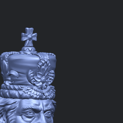 06_TDA0254_Chess-The_KingA10.png Download free STL file Chess-The King • 3D printer model, GeorgesNikkei