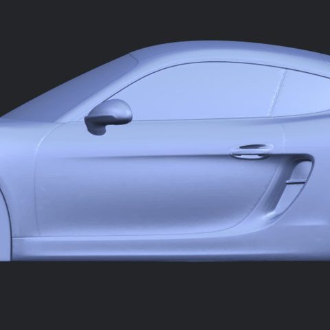 16_TDA0304_Porche_01_Length438mmB01.png Download free STL file Porche 01 • 3D printable object, GeorgesNikkei