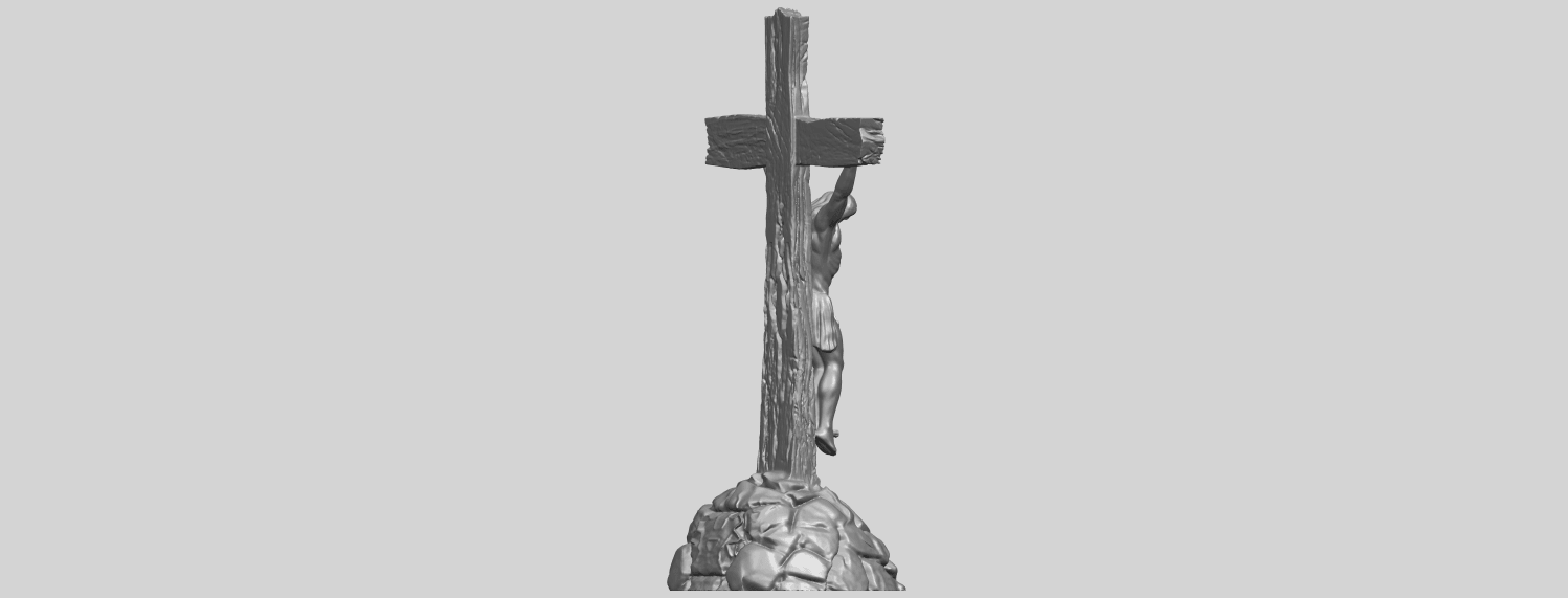 12_TDA0229_Jesus_with_cross_ii_88mmA08.png Download free STL file Jesus with cross 02 • Template to 3D print, GeorgesNikkei