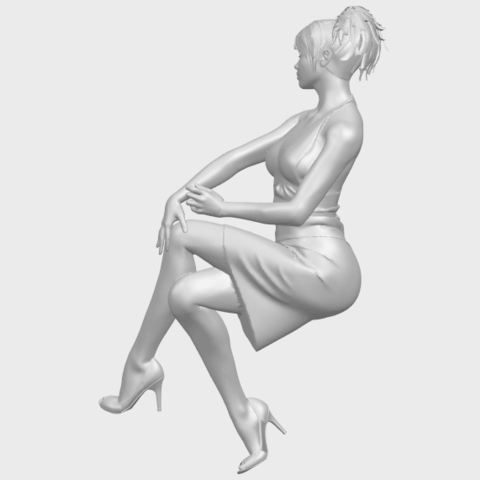 16_TDA0666_Naked_Girl_H04A07.png Download free STL file Naked Girl H04 • 3D printing object, GeorgesNikkei