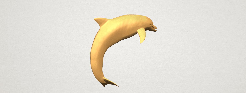TDA0613 Dolphin 03 A04.png Télécharger fichier STL gratuit Dauphin 03 • Objet pour impression 3D, GeorgesNikkei