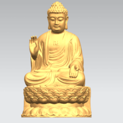 Download free 3D printer designs Gautama Buddha 03, GeorgesNikkei