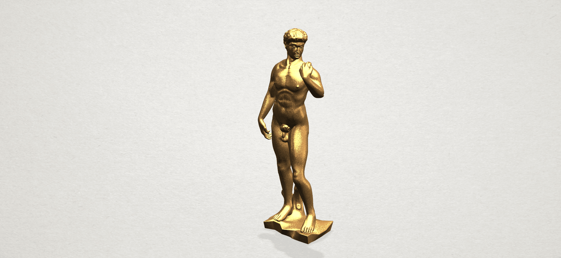 Michelangelo(i) -B02.png Download free STL file Michelangelo 01 • 3D printable template, GeorgesNikkei