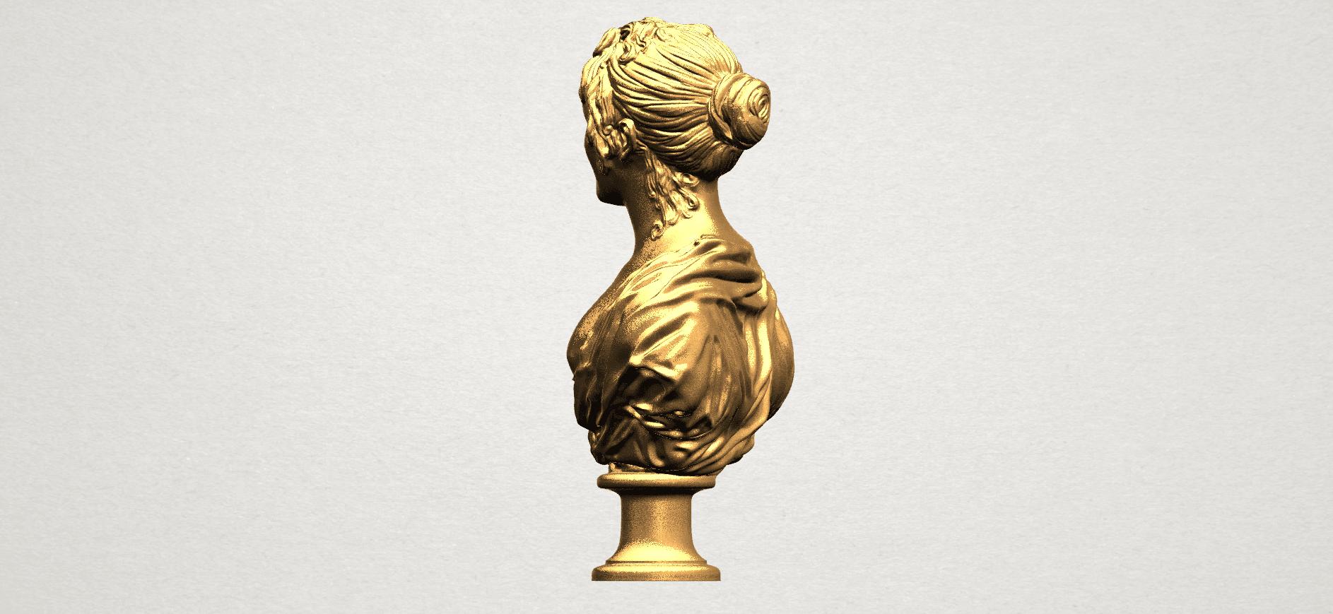 Bust of a girl 01 A03.png Télécharger fichier STL gratuit Buste d'une fille 01 • Modèle à imprimer en 3D, GeorgesNikkei