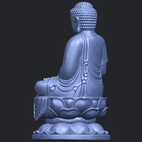 01_TDA0174_Gautama_Buddha_(ii)__88mmB05.png Download free STL file Gautama Buddha 02 • 3D print template, GeorgesNikkei