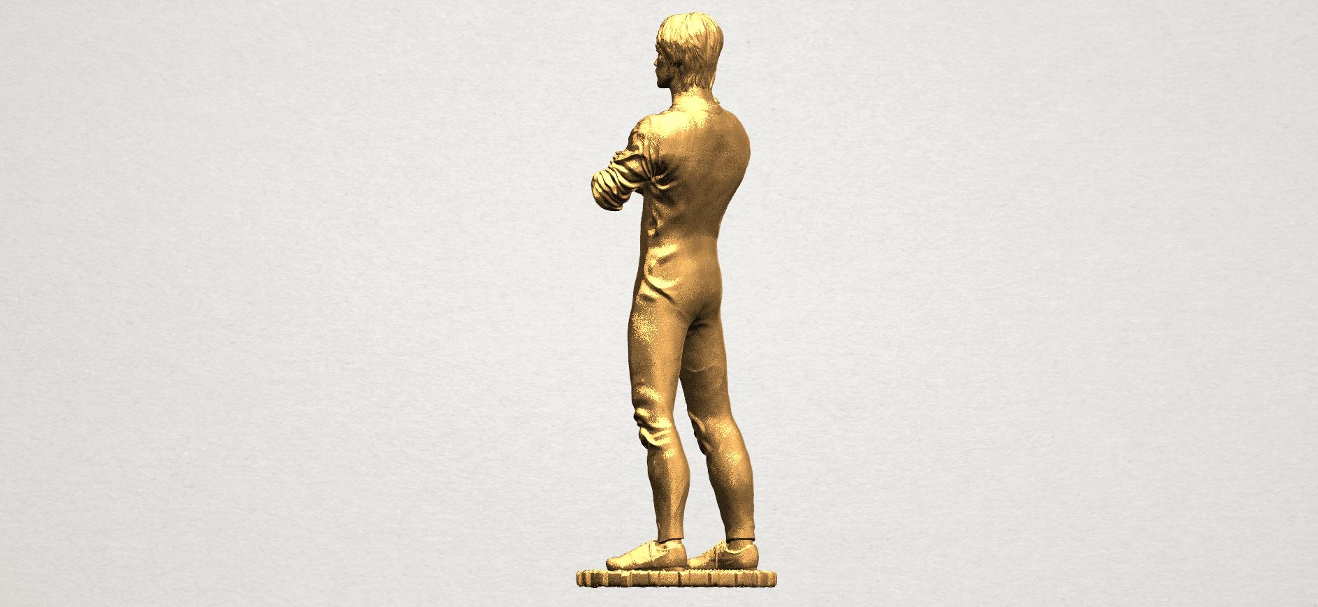 Bruce Lee A04.png Télécharger fichier STL gratuit Bruce Lee • Design à imprimer en 3D, GeorgesNikkei
