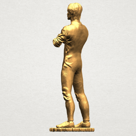 Bruce Lee A04.png Download free STL file Bruce Lee • 3D printing design, GeorgesNikkei