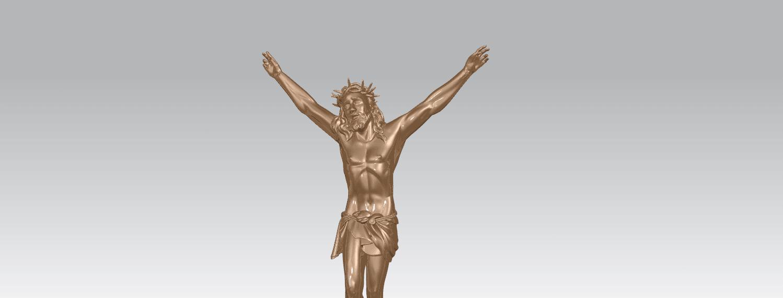 TDA0230 Jesus (ii) A06.png Download free STL file Jesus 02 • 3D printing template, GeorgesNikkei