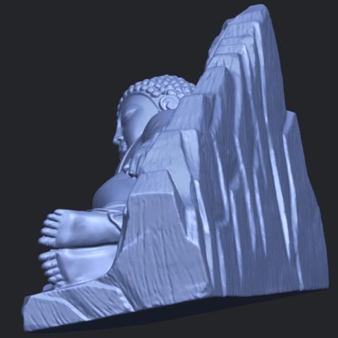 05_TDA0295_Sleeping_Buddha_iiiB04.png Télécharger fichier STL gratuit Bouddha Dormant 03 • Objet à imprimer en 3D, GeorgesNikkei