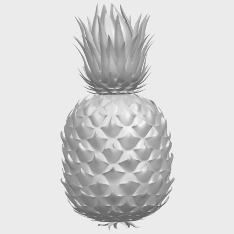 15_TDA0552_PineappleA02.png Download free STL file Pineapple • 3D printer design, GeorgesNikkei