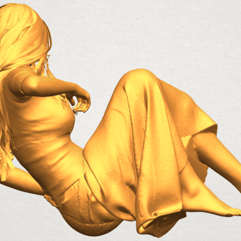 A07.png Download free STL file Naked Girl I03 • 3D printing object, GeorgesNikkei