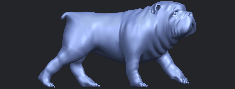 14_TDA0520_Bull_Dog_01B09.png Télécharger fichier STL gratuit Chien de taureau 01 • Plan pour impression 3D, GeorgesNikkei