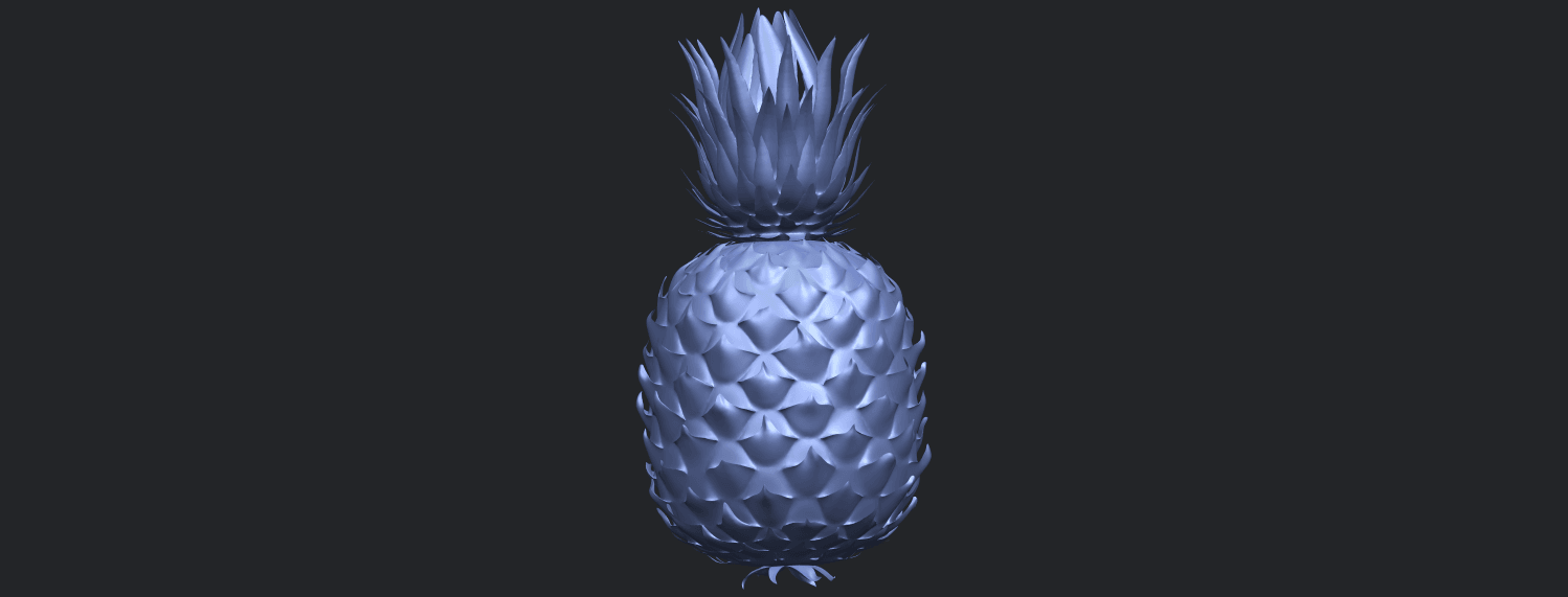 15_TDA0552_PineappleB03.png Download free STL file Pineapple • 3D printer design, GeorgesNikkei