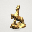 Chinese Horoscope07-03.png Télécharger fichier STL gratuit Horoscope Chinois 07 Cheval Chinois • Design imprimable en 3D, GeorgesNikkei