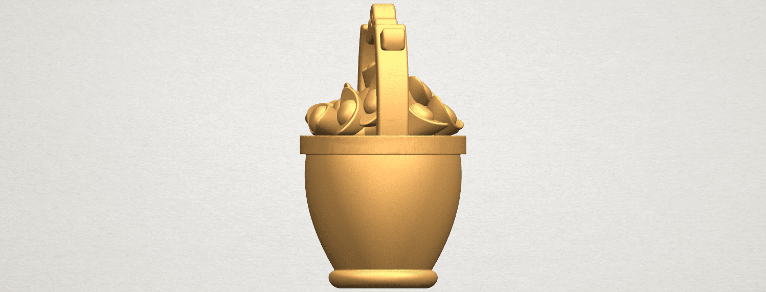 TDA0502 Gold in Bucket A07.png Download free STL file Gold in Bucket • 3D print object, GeorgesNikkei
