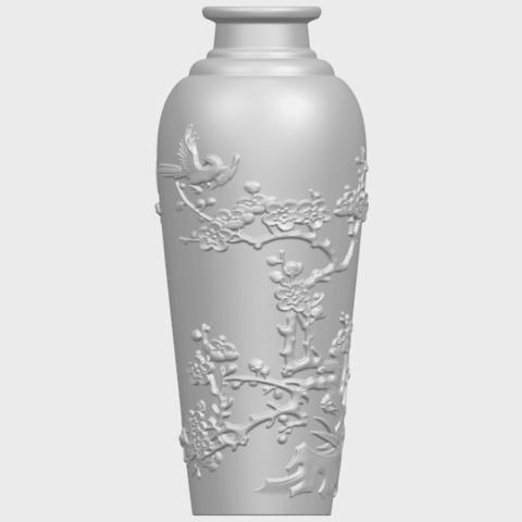 18_TDA0498_Vase_01A01.png Télécharger fichier STL gratuit Vase 01 • Modèle pour impression 3D, GeorgesNikkei