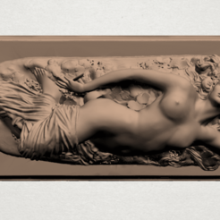 Free 3D model Naked Girl Drunken, GeorgesNikkei