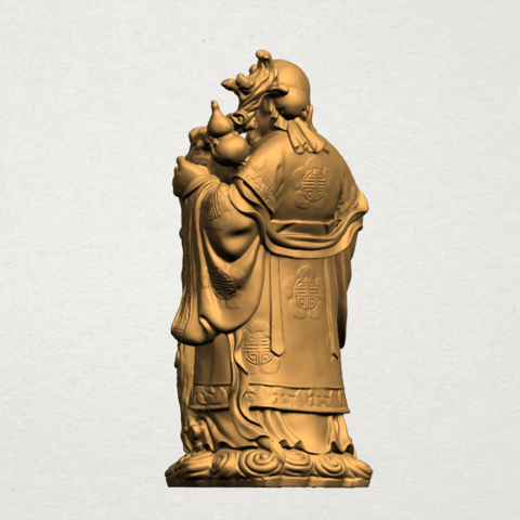 Sao (Fook Look Sao) 80mm - A03.png Download free STL file Sao (Fook Look Sao) • 3D printable model, GeorgesNikkei