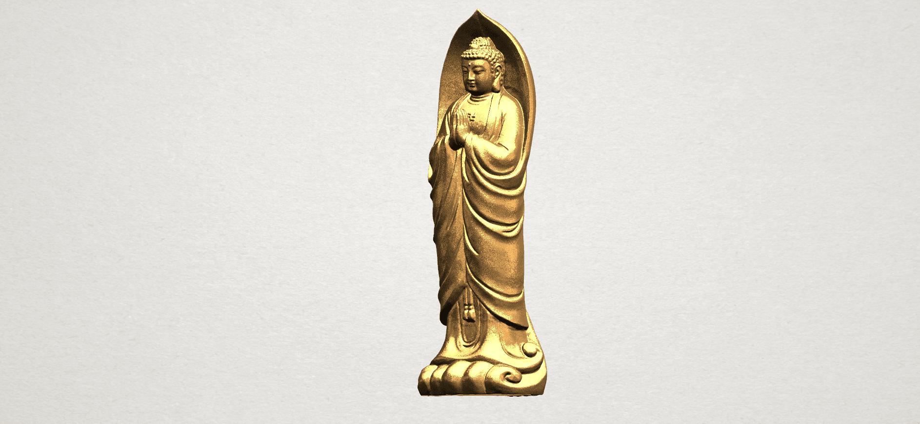 Gautama Buddha Standing (iv) A02.png Download free STL file Gautama Buddha Standing 04 • 3D printable design, GeorgesNikkei