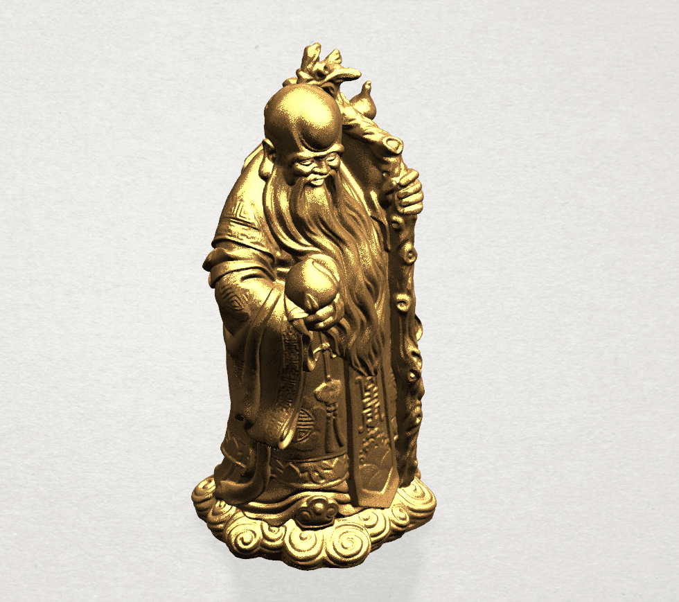 Sao (Fook Look Sao) 80mm - B07.png Download free STL file Sao (Fook Look Sao) • 3D printable model, GeorgesNikkei