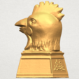 TDA0517 Chinese Horoscope of Rooster 02 A03.png Download free STL file Chinese Horoscope of Rooster 02 • 3D printable object, GeorgesNikkei