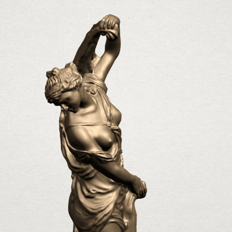 Naked Girl (vii) A10.png Download free STL file Naked Girl 07 • 3D printable design, GeorgesNikkei