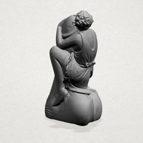 Alice hugging Dick - A03.png Download free STL file Alice hugging Dick • 3D printer design, GeorgesNikkei