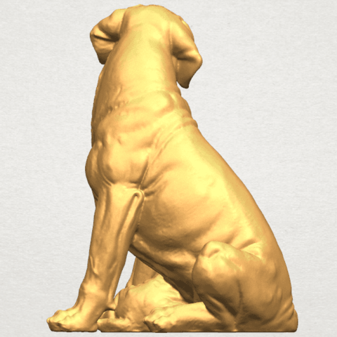 TDA0526 Dog and Puppy A07.png Download free STL file Dog and Puppy 01 • Model to 3D print, GeorgesNikkei