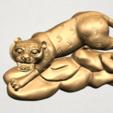 Télécharger fichier STL gratuit Horoscope chinois 03 Tigre Tigre • Plan pour impression 3D, GeorgesNikkei