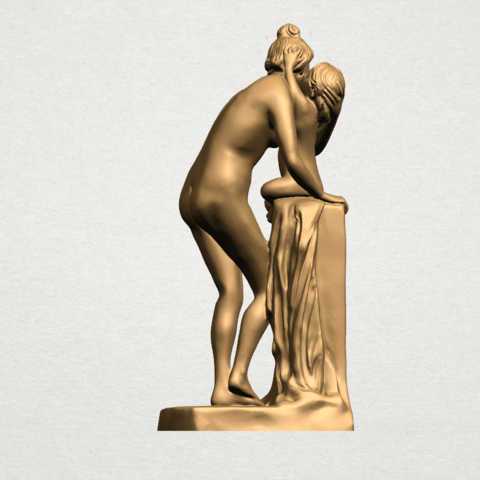 Mother-Child (i) A08.png Download free STL file Mother and Child 01 • 3D printing design, GeorgesNikkei